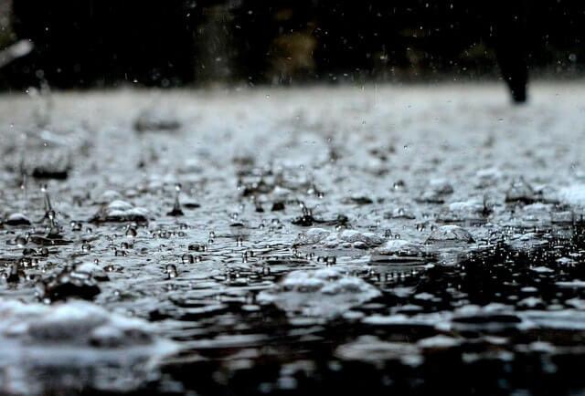 Eaux de pluie dans un vide sanitaire