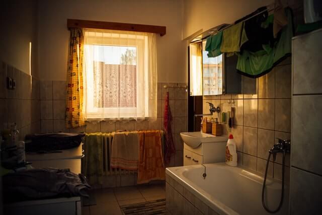 Salle de bains à rénover