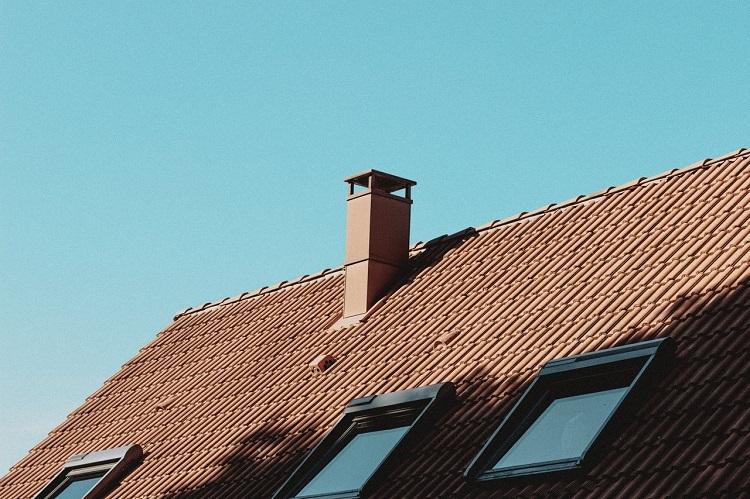Combles de toit avec velux
