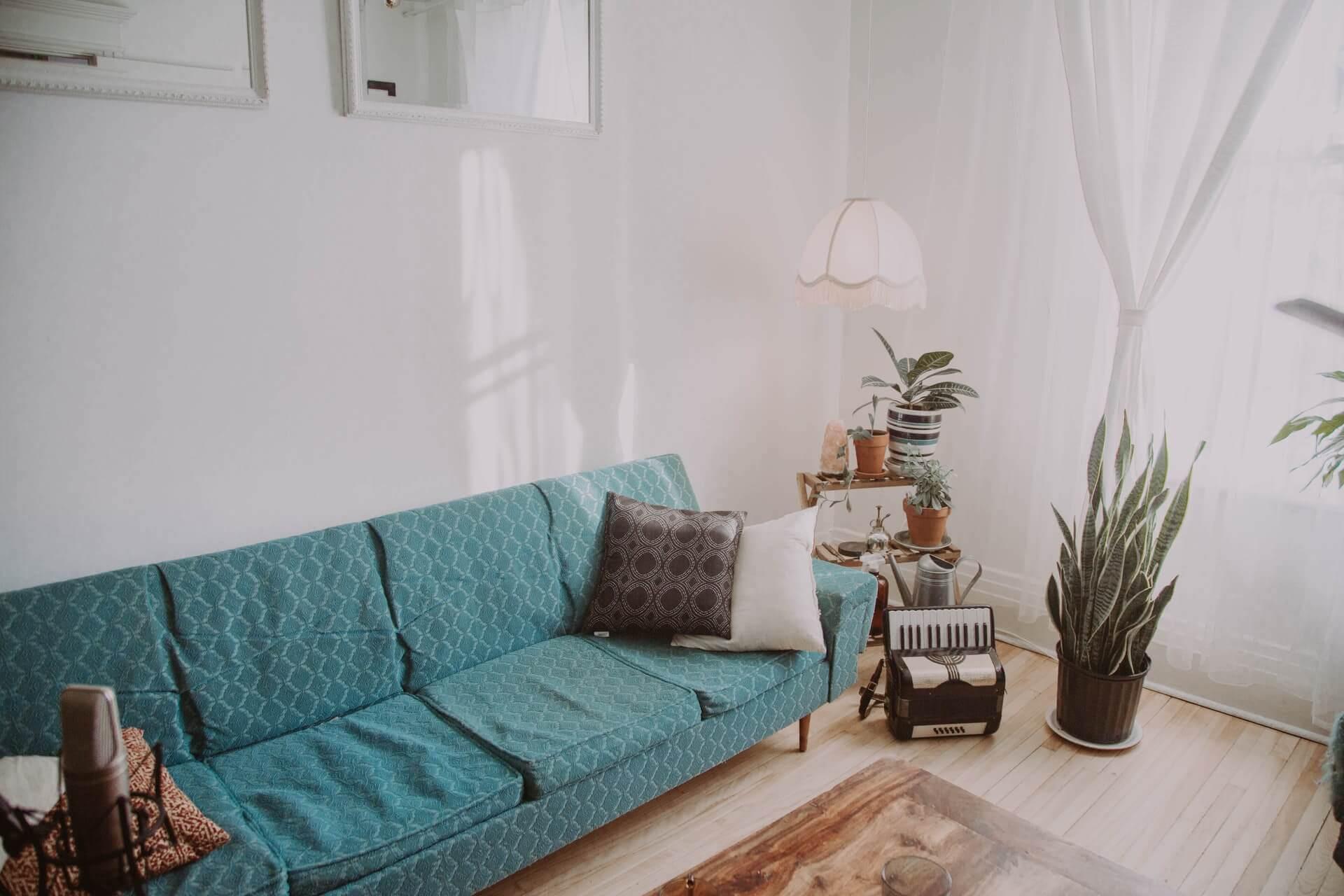 Salon d'une maison
