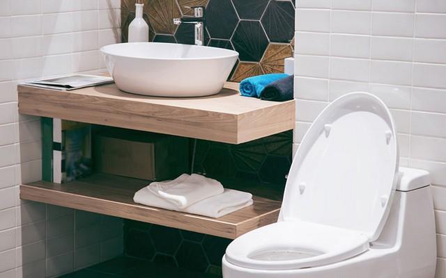 Toilettes décorés
