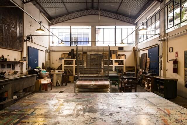 Atelier ancien à aménager