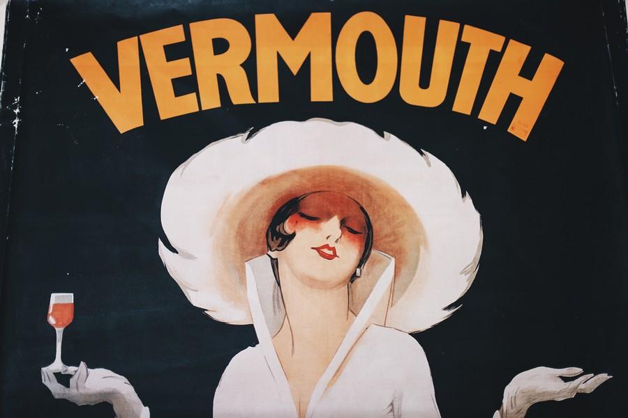 affiche vintage vermouth