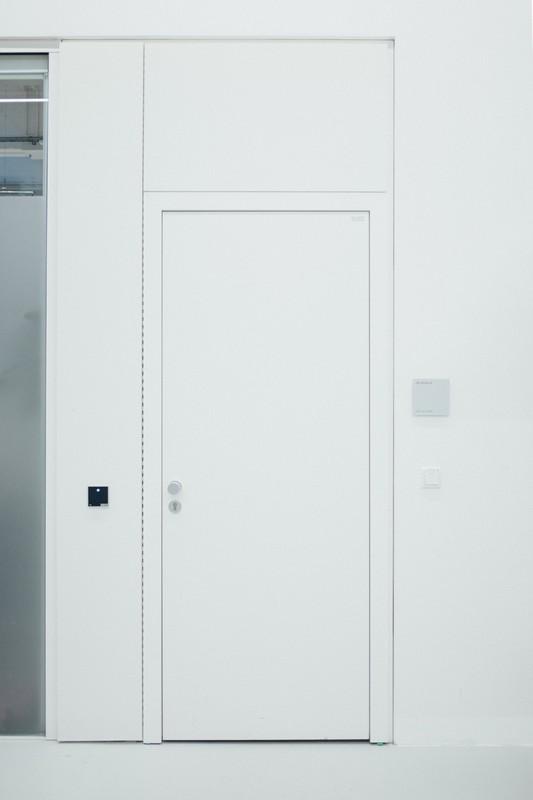 porte blanche en pvc